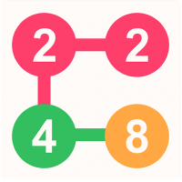 2 For 2 Connect the Numbers Puzzle  2.1.9 APK MOD (Unlimited Everything)