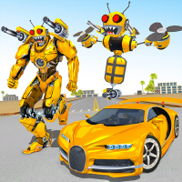 Bee Robot Car Transformation Game: Robot Car Games 1.30 APK MOD (Unlimited Everything)