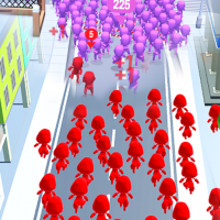 Download Crowd Run – City Of Wars 0.6 APK MOD (Unlimited Everything)