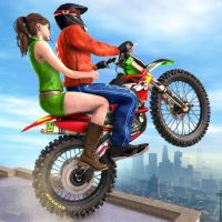 Download Extreme Rooftop Bike Rider Sim : Bike Games 2.9 APK PRO (Unlimited Everything)