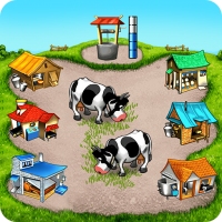 Farm Frenzy Free Time management games offline 🌻 1.3.8 APK MOD (Unlimited Everything)