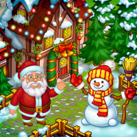 Download Farm Snow: Happy Christmas Story With Toys & Santa 2.16 APK PRO (Unlimited Everything)