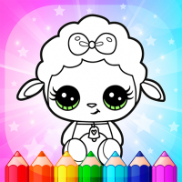 Download Flower Magic Color-kids coloring book with animals 3.7 APK MOD (Unlimited Everything)