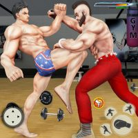 GYM Fighting Games: Bodybuilder Trainer Fight PRO 1.6.4 APK MOD (Unlimited Everything)
