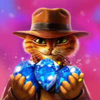 Indy Cat Match 3 Puzzle Adventure  1.85 APK MOD (Unlimited Everything)