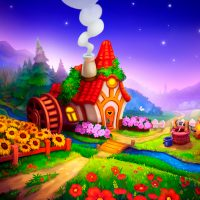 Royal Farm Village game with quests & fairy tales  1.44.0 APK MOD (Unlimited Everything)