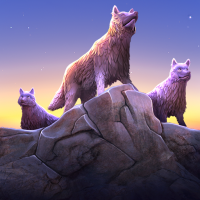 Download Wolf Simulator Evolution 1.0.2.7 APK PRO (Unlimited Everything)