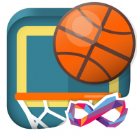 Download Basketball FRVR – Shoot the Hoop and Slam Dunk! 2.7.4 APK MOD (Unlimited Everything)
