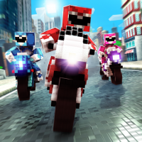 Download Blocky Super Bike Race Game: Motorcycle Challenge 2.11.44 APK PRO (Unlimited Everything)