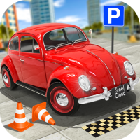 Download Classic Car Parking Real Driving Test 1.7.9 APK PRO (Unlimited Everything)