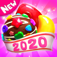 Crazy Candy Bomb Sweet match 3 game 4.6.3 APK MOD (Unlimited Everything)