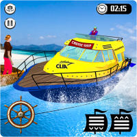 Download Cruise Captain: Water Boat Taxi Simulator 1.6 APK PRO (Unlimited Everything)