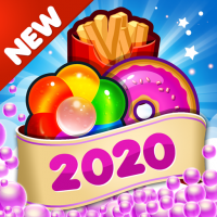 Fast Food 2020 New Match 3 Free Games Without Wifi  2.1.0 APK MOD (Unlimited Everything)