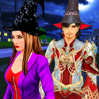 Download Halloween Witch and Wizard Adventure 2.0.2 APK MOD (Unlimited Everything)