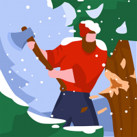 Download Idle Lumberjack 3D 1.5.15 APK MOD (Unlimited Everything)