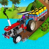 Download Indian Tractor Trolley Off-road Cargo Drive Game 1.0 APK PRO (Unlimited Everything)