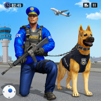 Police Dog Airport Crime Chase Dog Games  4.5 APK MOD (Unlimited Everything)