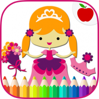 Download Prince & Princess Coloring Book 5 APK PRO (Unlimited Everything)