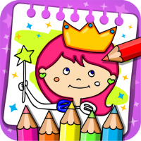 Download Princess Coloring Book & Games 1.44 APK MOD (Unlimited Everything)