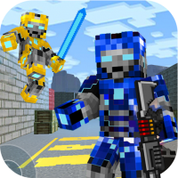 Rescue Robots Sniper Survival  1.145 APK MOD (Unlimited Everything)