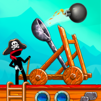 The Catapult: Castle Clash with Stickman Pirates  1.3.5 APK MOD (Unlimited Everything)