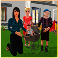 Download Virtual Single Mom Simulator: Family Mother Life 1.17 APK PRO (Unlimited Everything)