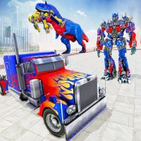 Police Truck Robot Game – Transforming Robot Games  1.2.0 APK MOD (Unlimited Everything)