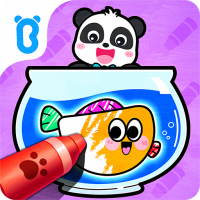 Download Baby Panda's Coloring Book 8.52.00.00 APK PRO (Unlimited Everything)