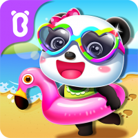 Baby Panda's Summer: Vacation  8.58.00.00 APK MOD (Unlimited Everything)