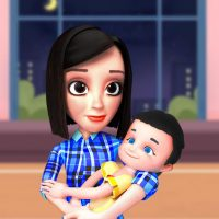 Download Busy Virtual Mother Simulator 2021 👩 3.3 APK MOD (Unlimited Everything)