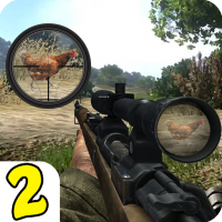 Download Chicken Shoot II Sniper Shooter 1.1.6 APK PRO (Unlimited Everything)