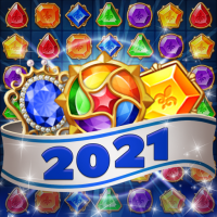 Jewels Mystery: Match 3 Puzzle  1.3.6 APK MOD (Unlimited Everything)