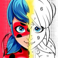 Download Miraculous Ladybug & Cat Noir. Color by number 1.1.2 APK MOD (Unlimited Everything)