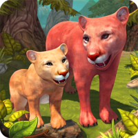 Download Mountain Lion Family Sim : Animal Simulator 1.8.1 APK PRO (Unlimited Everything)