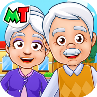 Download My Town : Grandparents Play home Fun Life Game 1.03 APK PRO (Unlimited Everything)