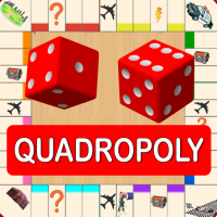 Quadropoly Best AI Board Business Trading Game  1.78.83 (Mod)