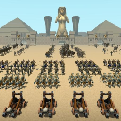 Download CLASH OF MUMMIES: PHARAOH RTS 2.1 APK PRO (Unlimited Everything)