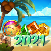 Download Island of Jewels: Aloha ! Match3 puzzle 1.1.4 APK MOD (Unlimited Everything)