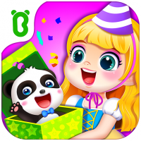 Little panda's birthday party  8.57.00.00 APK MOD (Unlimited Everything)