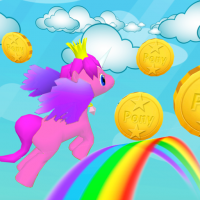 Download My Little Unicorn Dash 3D HD 1.15 APK PRO (Unlimited Everything)
