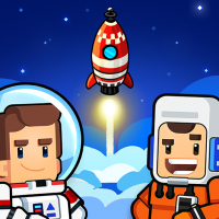 Rocket Star Idle Space Factory Tycoon Game  1.49.1 APK MOD (Unlimited Everything)