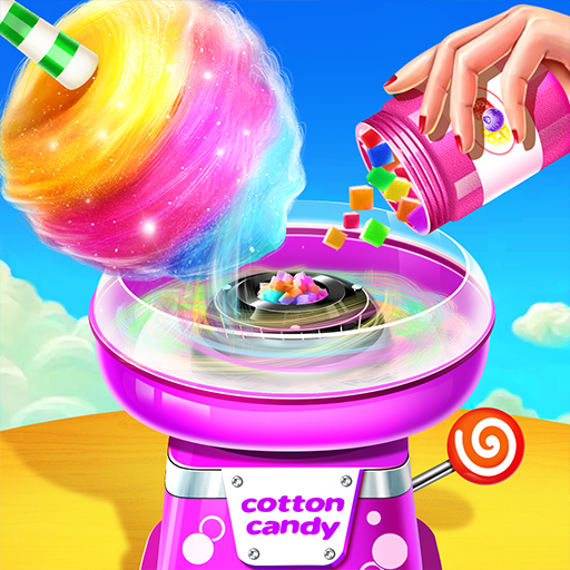 💜Cotton Candy Shop – Cooking Game🍬 6.5.5052 APK MOD (Unlimited Everything)