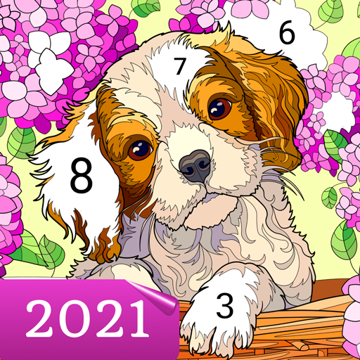 Happy Canvas™ – Color by Number Book 2.1.2 APK MOD (Unlimited Everything)
