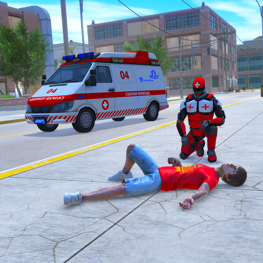 Light Speed Hero Rescue Mission: City Ambulance 1.0.4 APK MOD (Unlimited Everything)