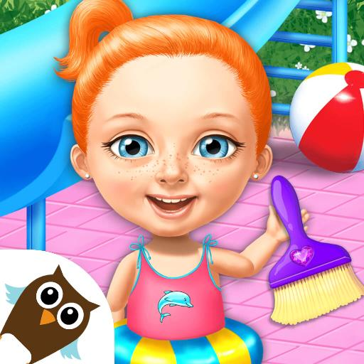 Sweet Baby Girl Cleanup 4 – House, Pool & Stable 4.0.10014 APK MOD (Unlimited Everything)
