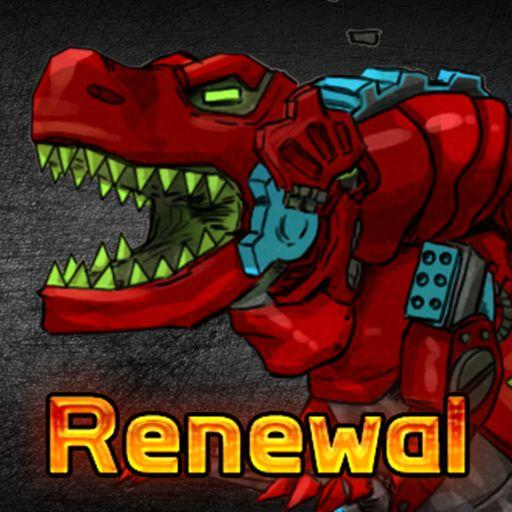 T-Rex Red – Combine! Dino Robot : Dinosaur games 2.1.9 APK MOD (Unlimited Everything)