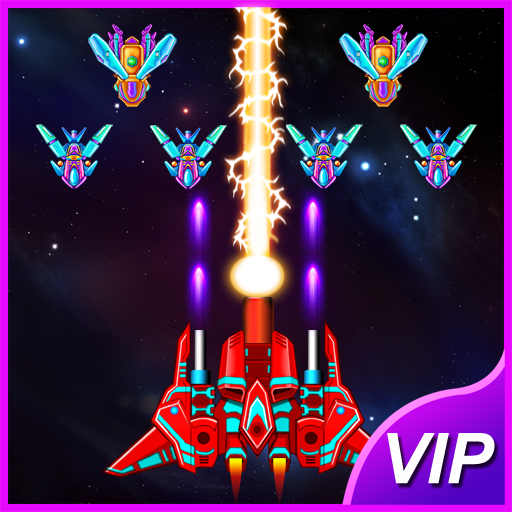 Galaxy Attack: Alien Shooter  35.6 APK MOD (Unlimited Everything)