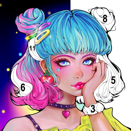 Sweet Coloring Color by Number Painting Game  1.0.32 APK MOD (Unlimited Everything)