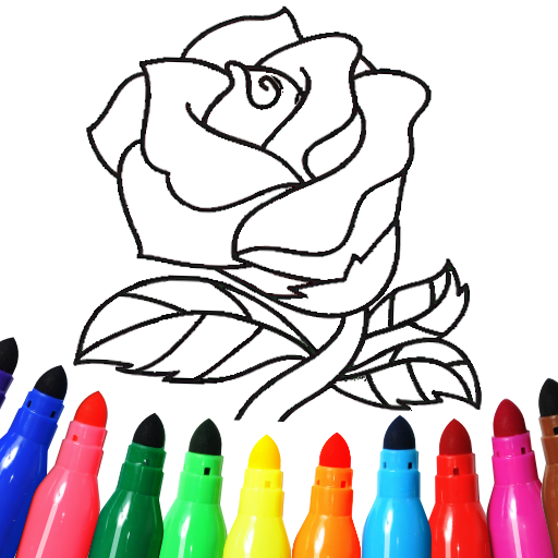 Valentines love coloring book 16.2.6 APK MOD (Unlimited Everything)