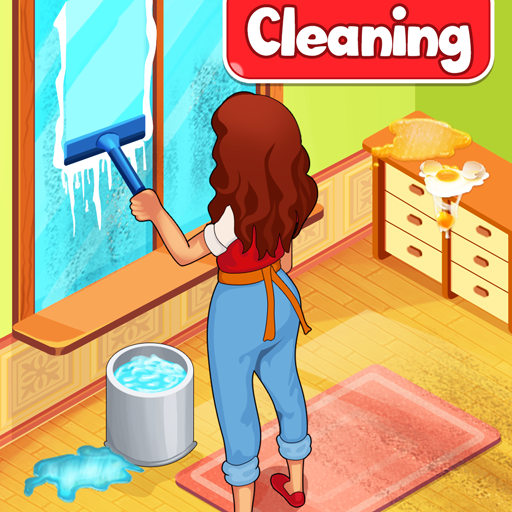 Big Home Cleanup and Wash : House Cleaning Game 3.0.7 APK MOD (Unlimited Everything)